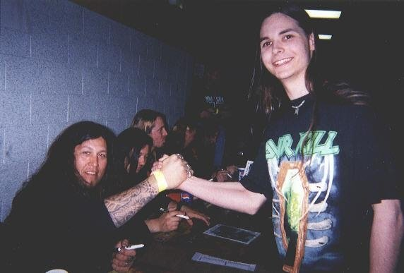 Chuck Billy and Testament
